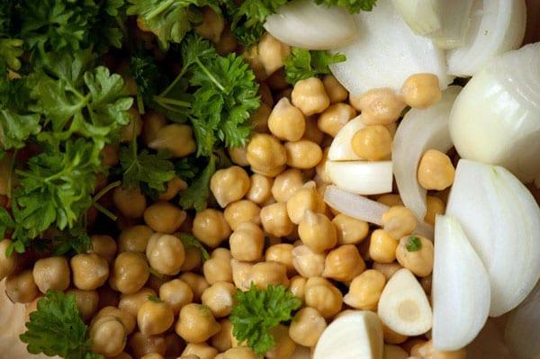 ingredienser-til-falafel