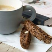 Biscotti med Chokolade
