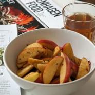 Æbler med lakrids