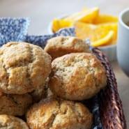Appelsin og kardemomme scones