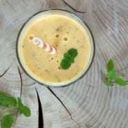 Mango og Passionsfrugt smoothie