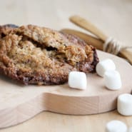 Cookies med marshmallow