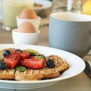 Morgenmadsvafler med boghvede