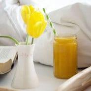 Appelsin og Mynte Juice