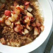 Risengrød med æblekompot