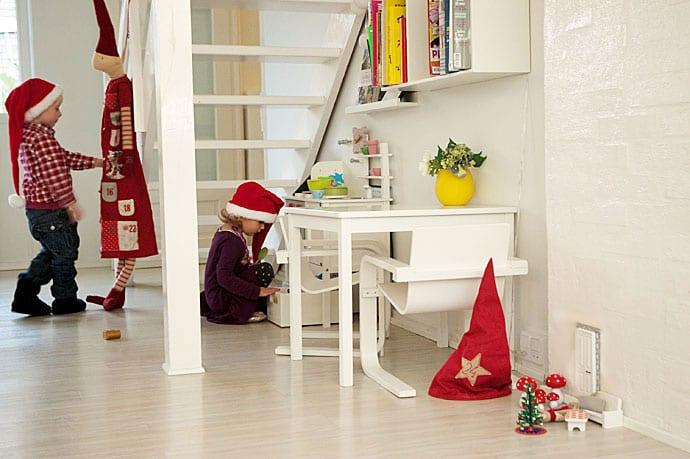 Frisk frugt Nissedør til jul - sådan laver man en fin nissedør - inspiration GQ42