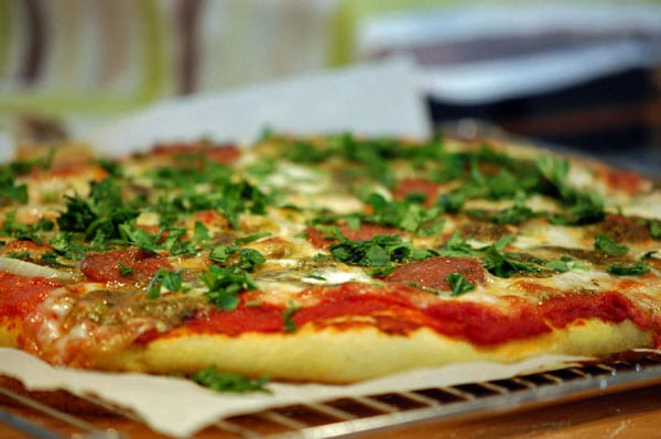 nem pizzadej opskrift