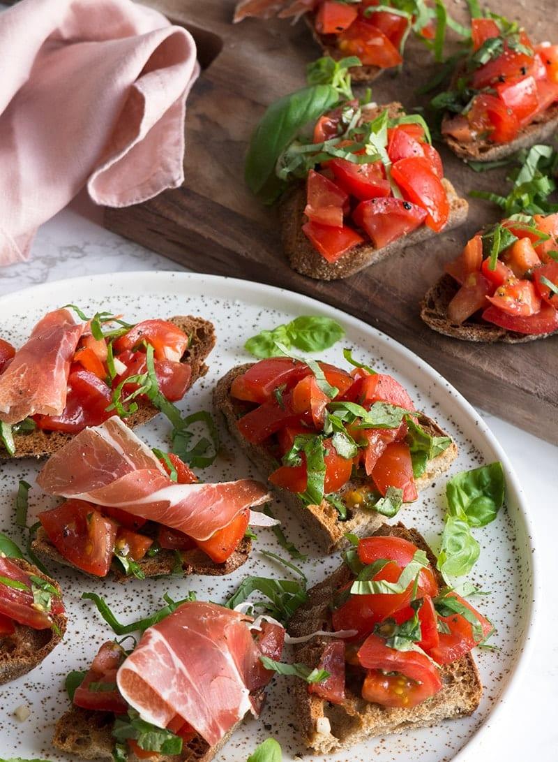 Bruschetta tomat