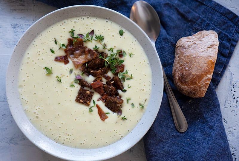 Kartoffelsuppe Den Bedste Opskrift På Cremet Suppe Med Kartofler