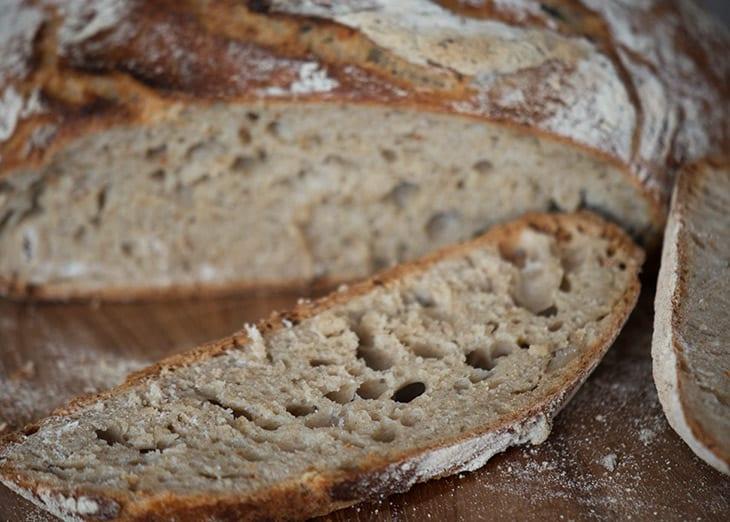 lufthuller brød