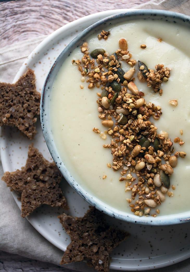 blomkål suppe opskrift
