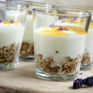 Ananas lavendel sirup til yoghurt
