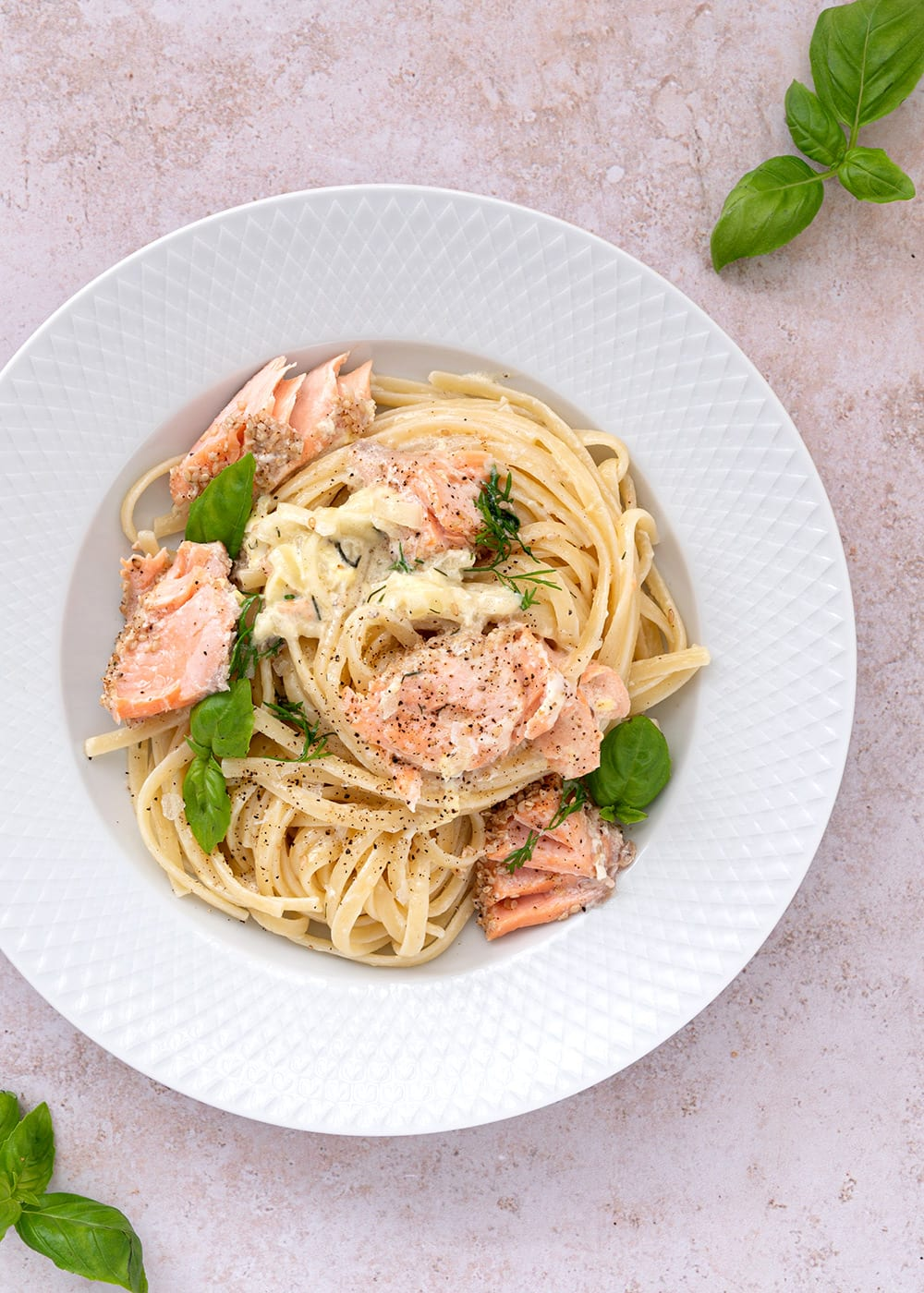 pasta laks og fløde