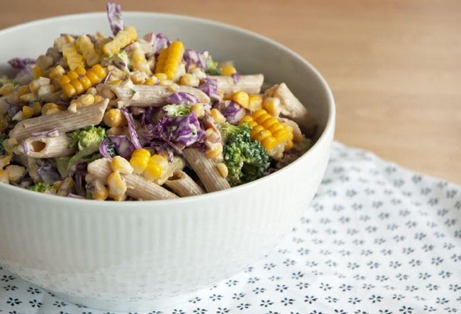 pastasalat opskrift