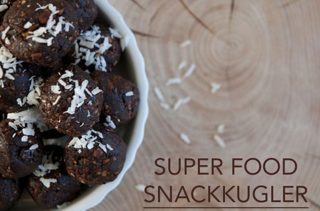 superfood-snackkugler