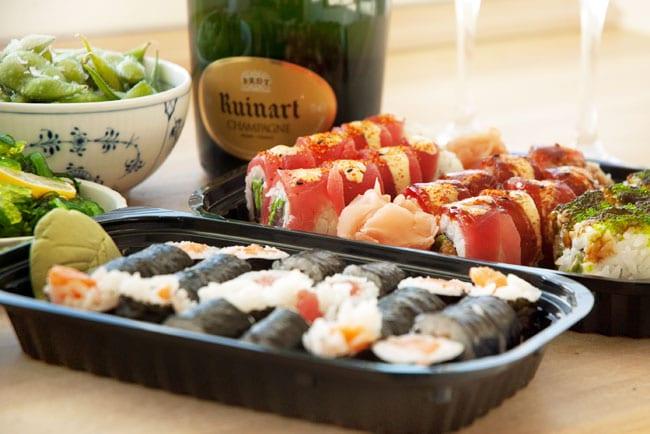 sushi-aften