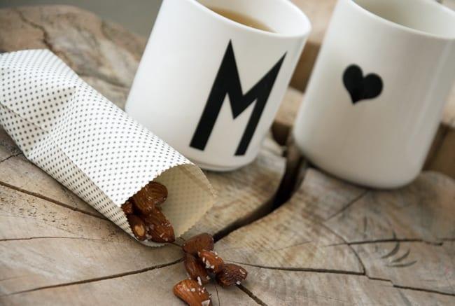 mandler og te