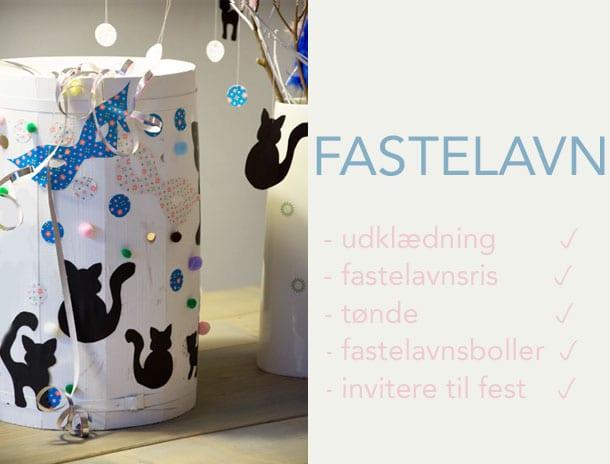 fastelavnsfest-ideer