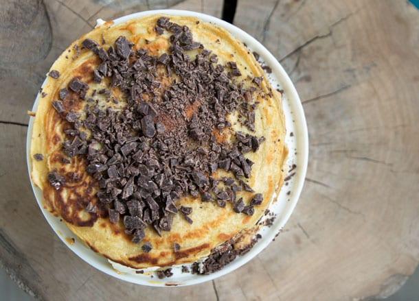 chokolade-pandekagekage