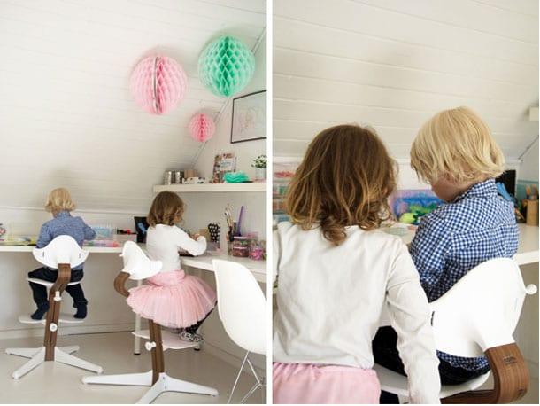 kreav relse som en del af hjemmekontoret krea indretning. Black Bedroom Furniture Sets. Home Design Ideas