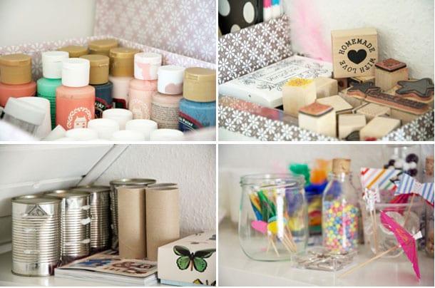Kreaværelse som en del af hjemmekontoret – krea indretning