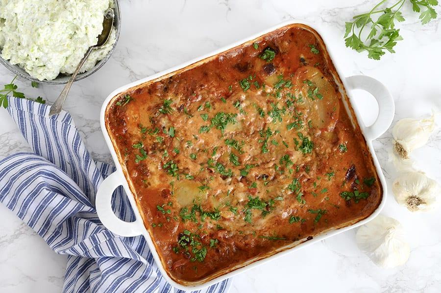 vegetar moussaka