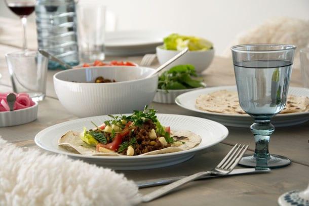 Krydret oksekød til nem tortilla og taco – Opskrift