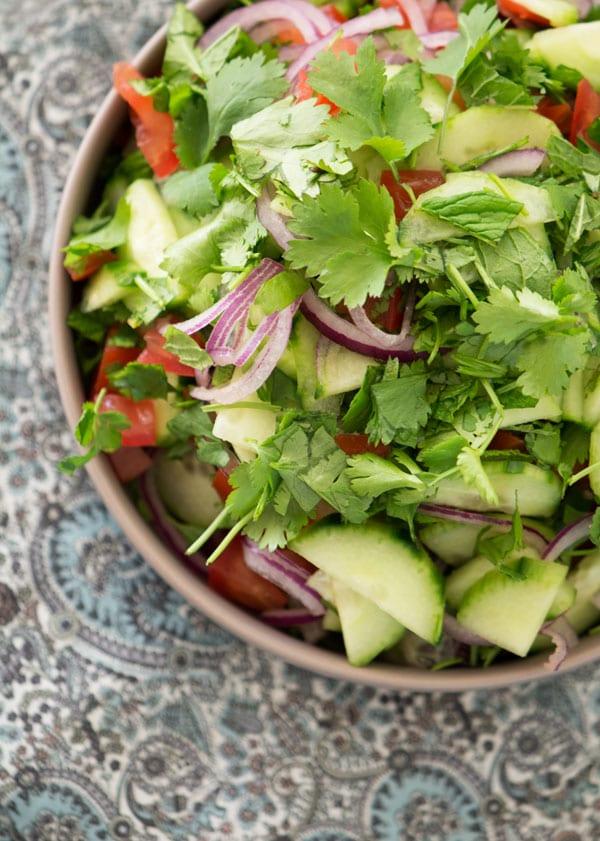 Indisk Salat Den Perfekte Ledsager Til Indiske Retter