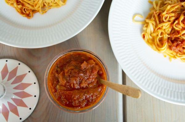 kødboller i tomatsovs frys