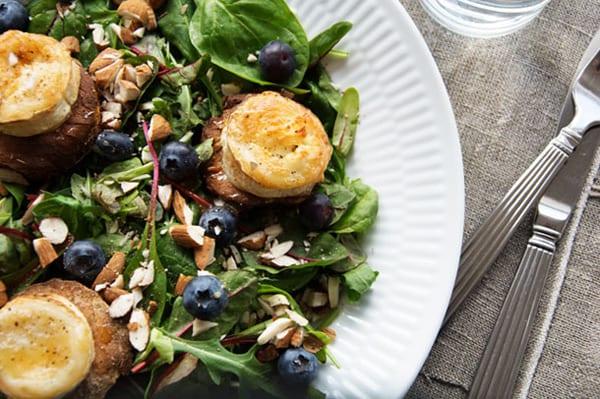 Salade-Chevre-Chaud-opskrift