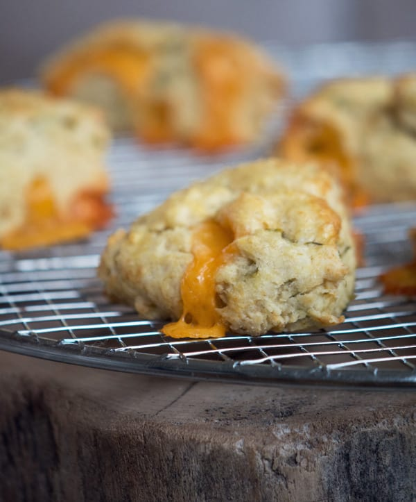 Chili Cheese Scones