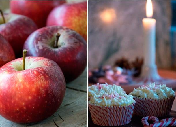 julemuffins æble og kanel