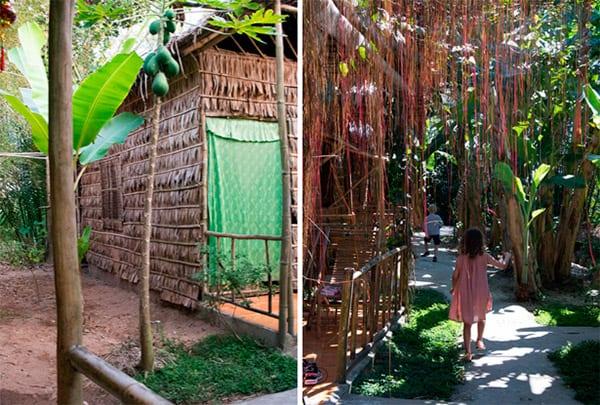 bambushytte-Mekong-delta