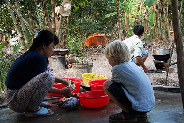 madlavning Mekong Delta