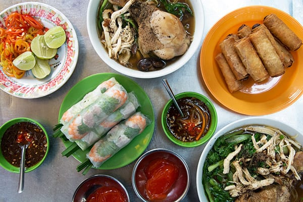 Spisetips og guide til gode madoplevelser i Ho Chi Minh City