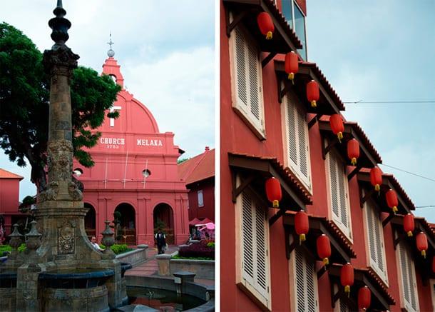 melaka-red-houses