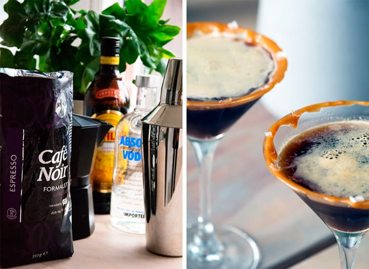 Espresso Martini Saltkaramel