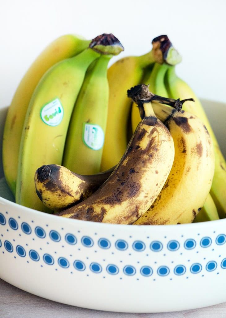 hvor sunde er bananer
