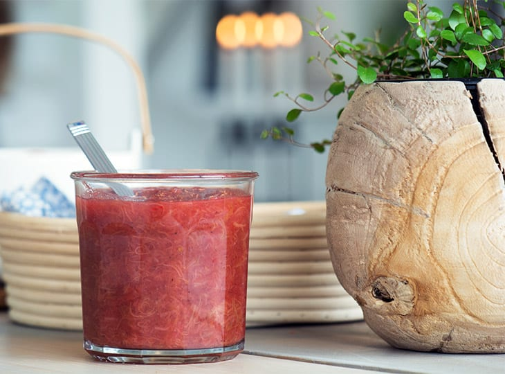 Rabarber marmelade
