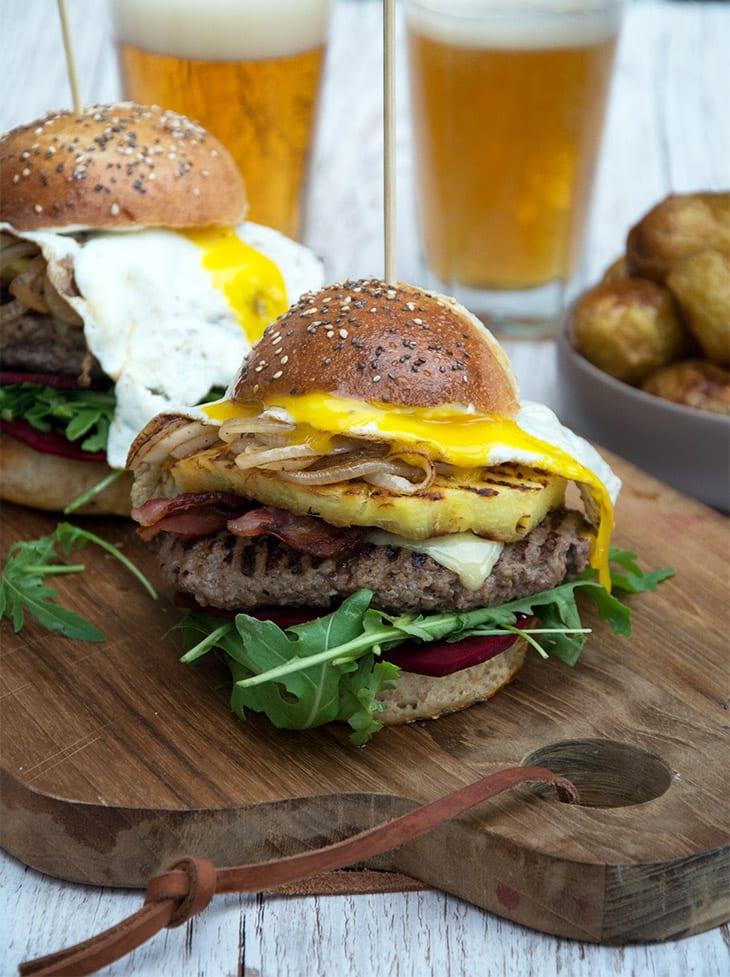 Aussie Burger ananas