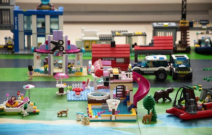 Lego underlag