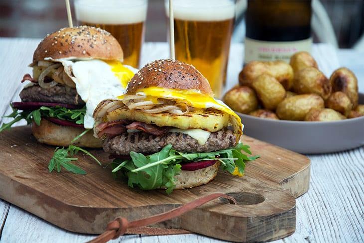 Aussie Burger spejlæg