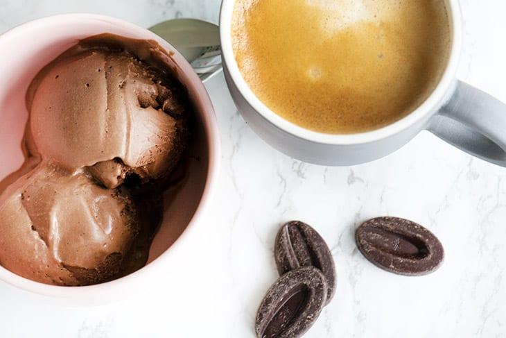 Chokoladeis opskrift
