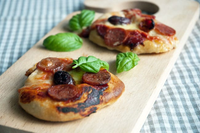 pizza-chorizo