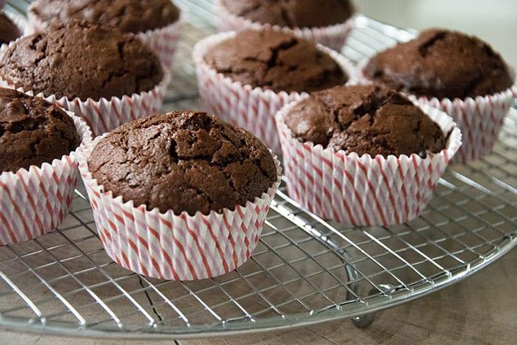 Chokolademuffins Opskrift På Lækre Chokolade Muffins