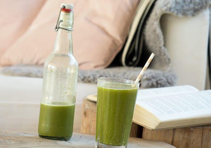 Grøn juice med kiwi