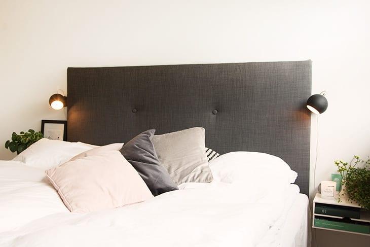 Afholte Soveværelse - DIY sengegavl og sengeborde inspiration OT-47