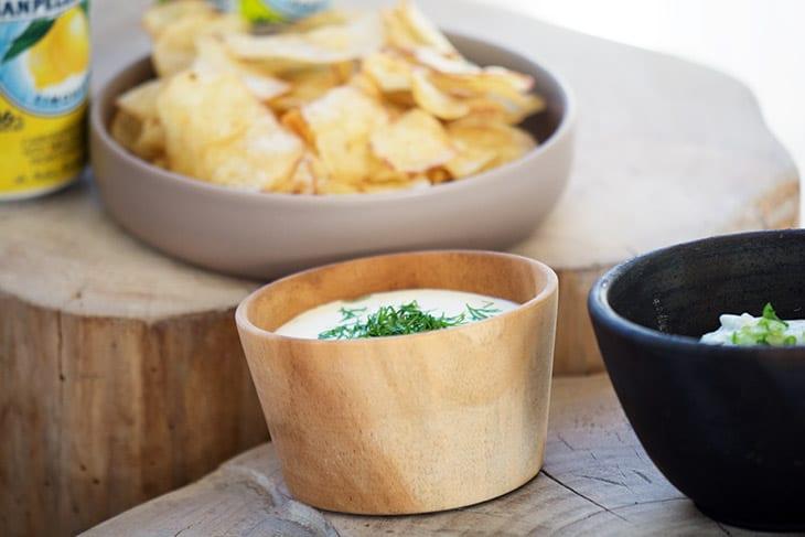 Hjemmelavet dip til chips - opskrift