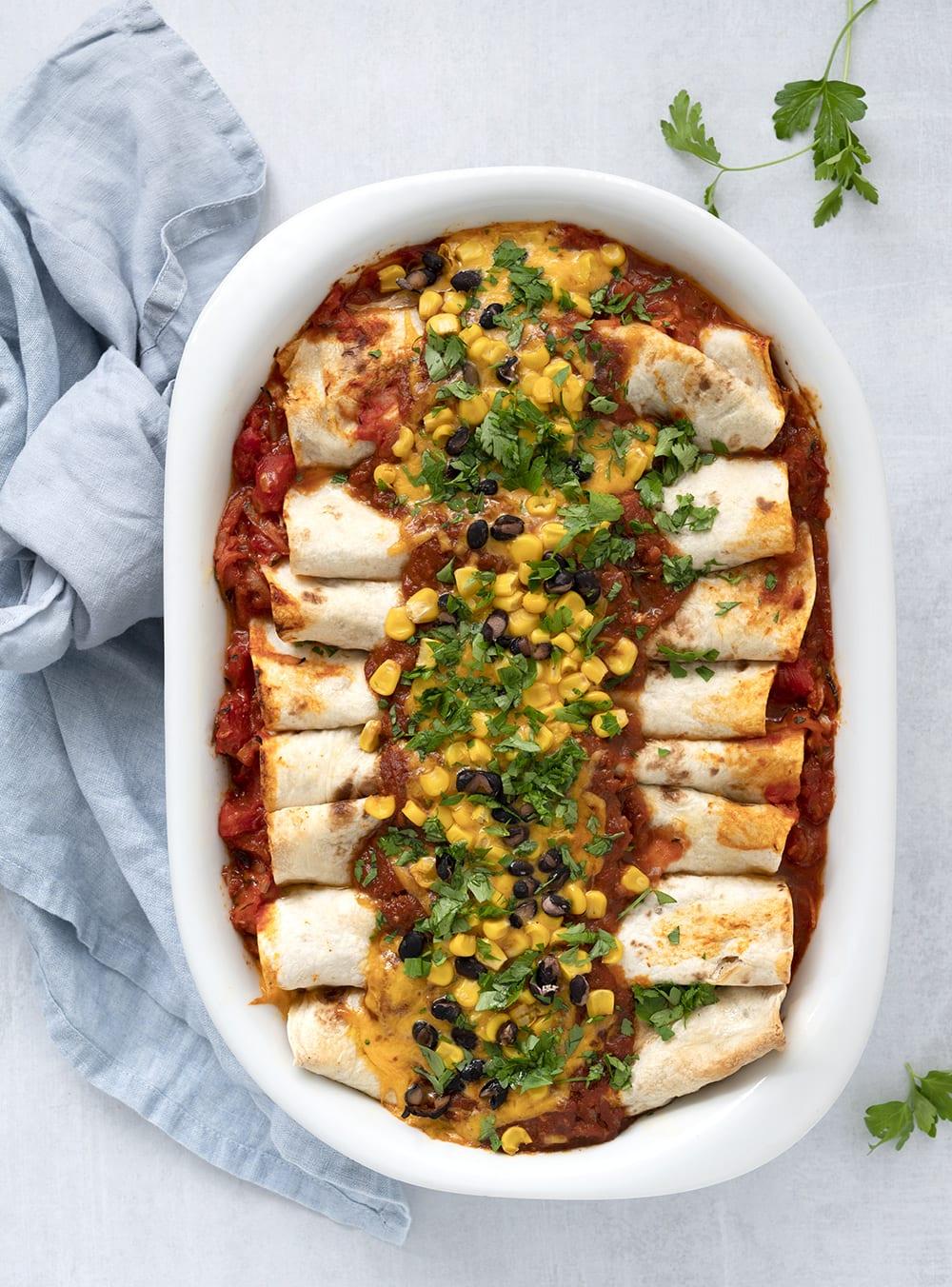 enchiladas kylling