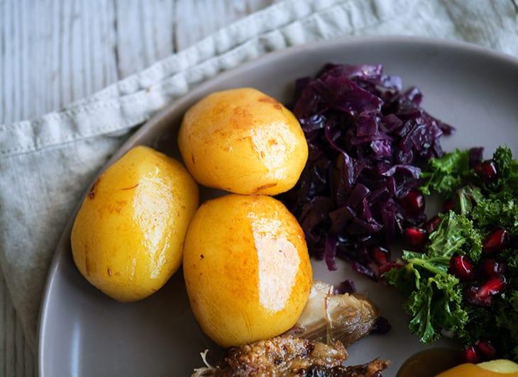 Perfekte Brunede Kartofler Til Julemiddagen Opskrift